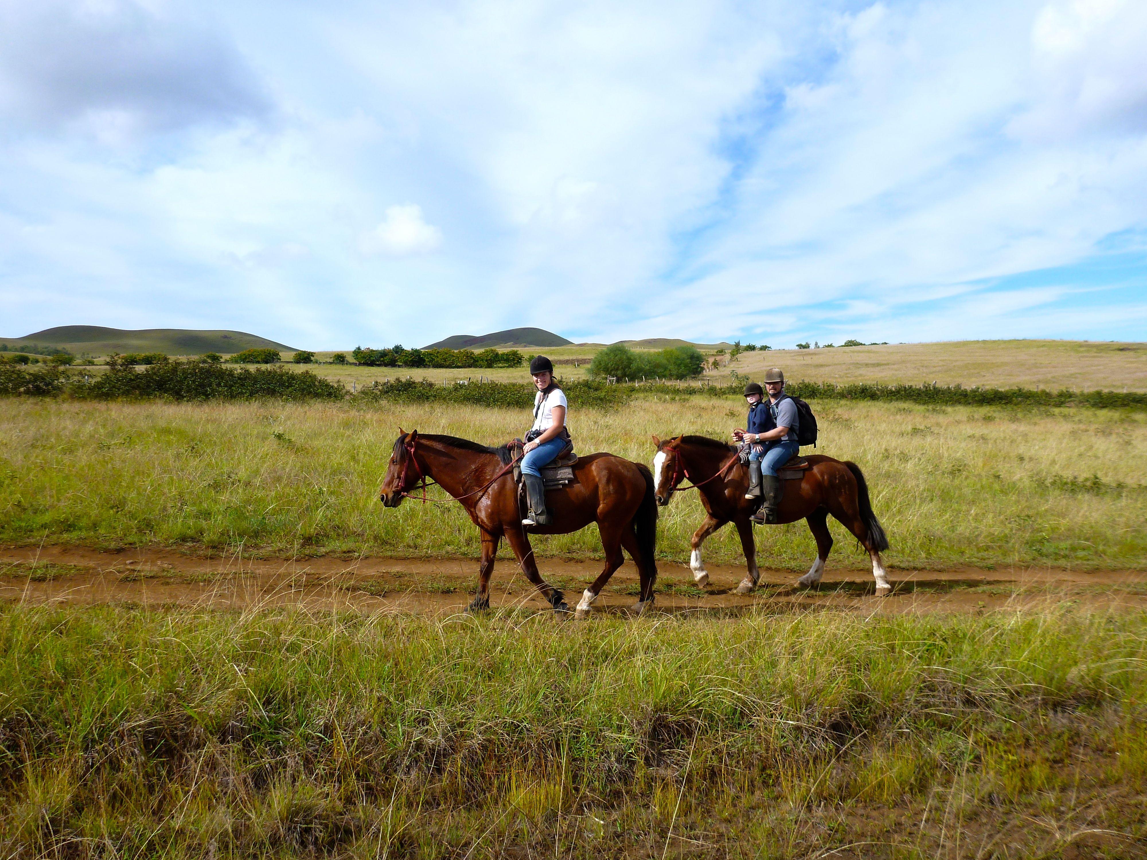 J13 : Dernier jour sur l'île de Pâques – Le cavalier !