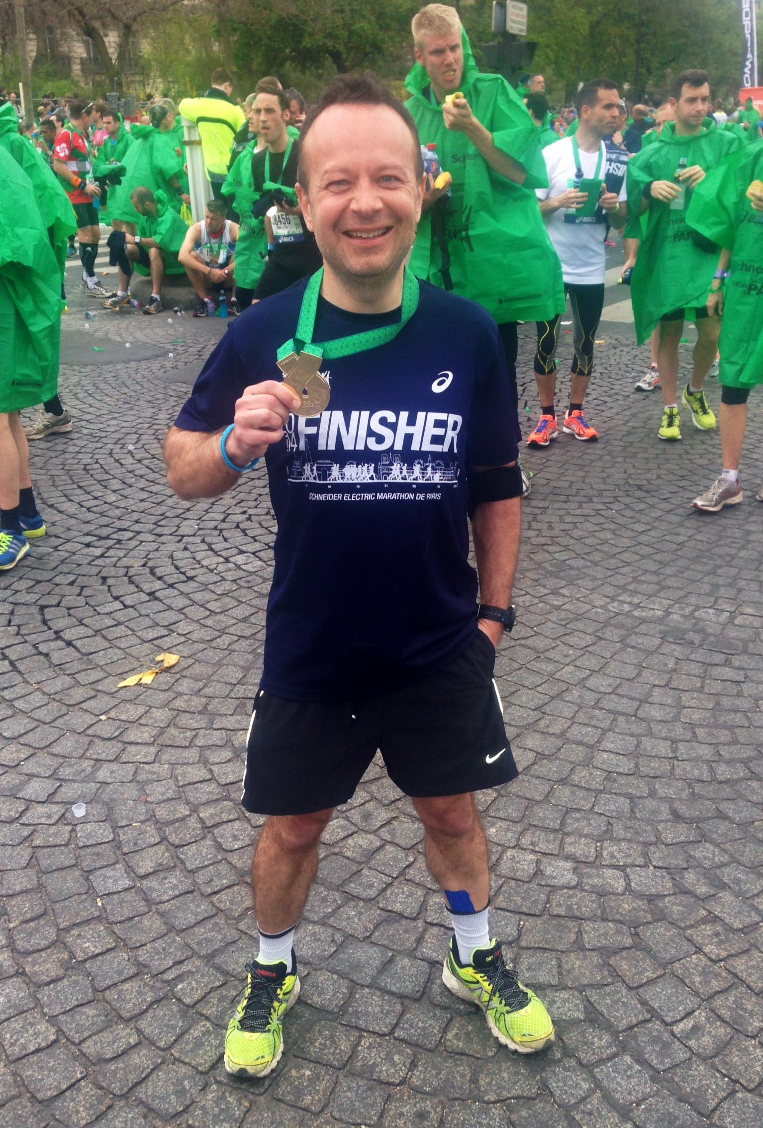 Mon premier marathon : le marathon de Paris 2014 !
