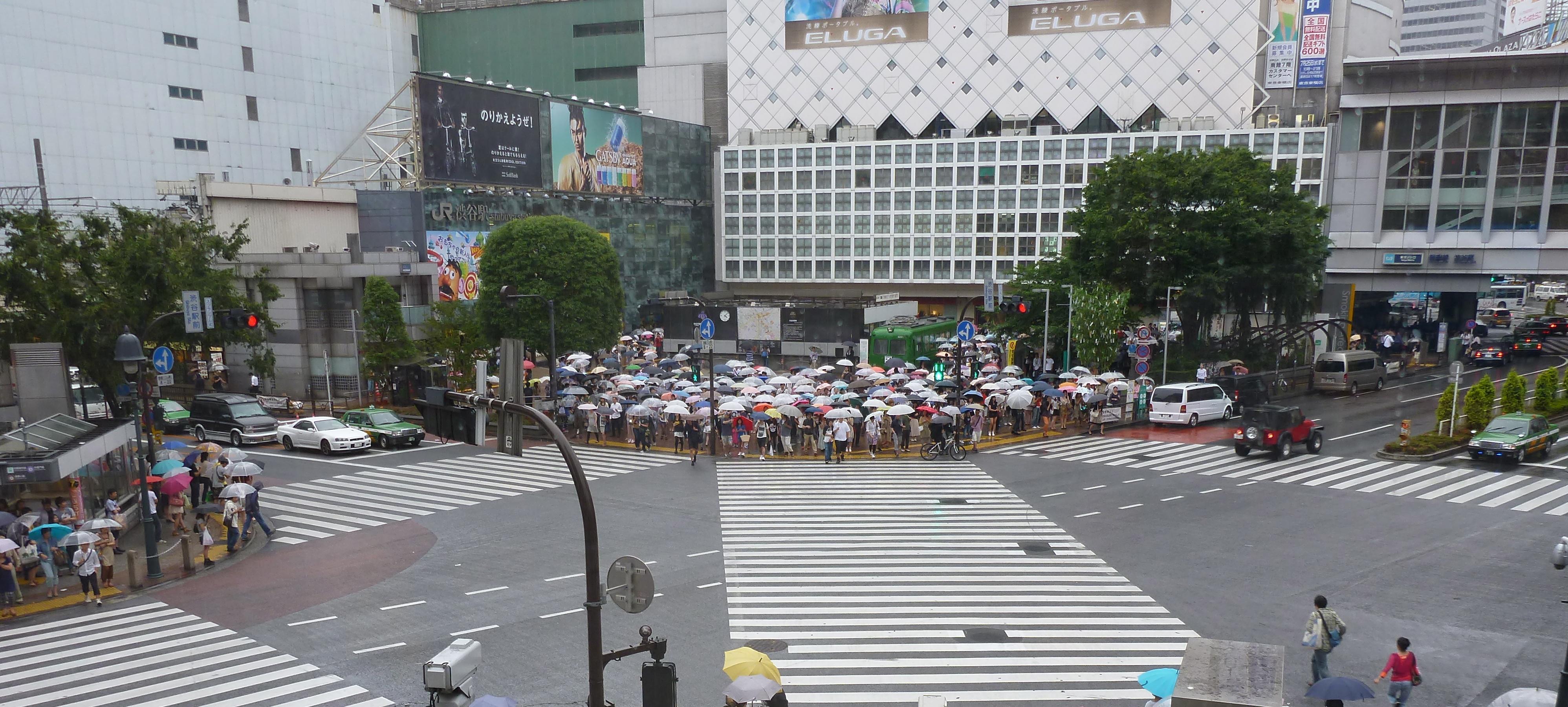 J56 : Retour vers Tokyo et ses quartiers animés