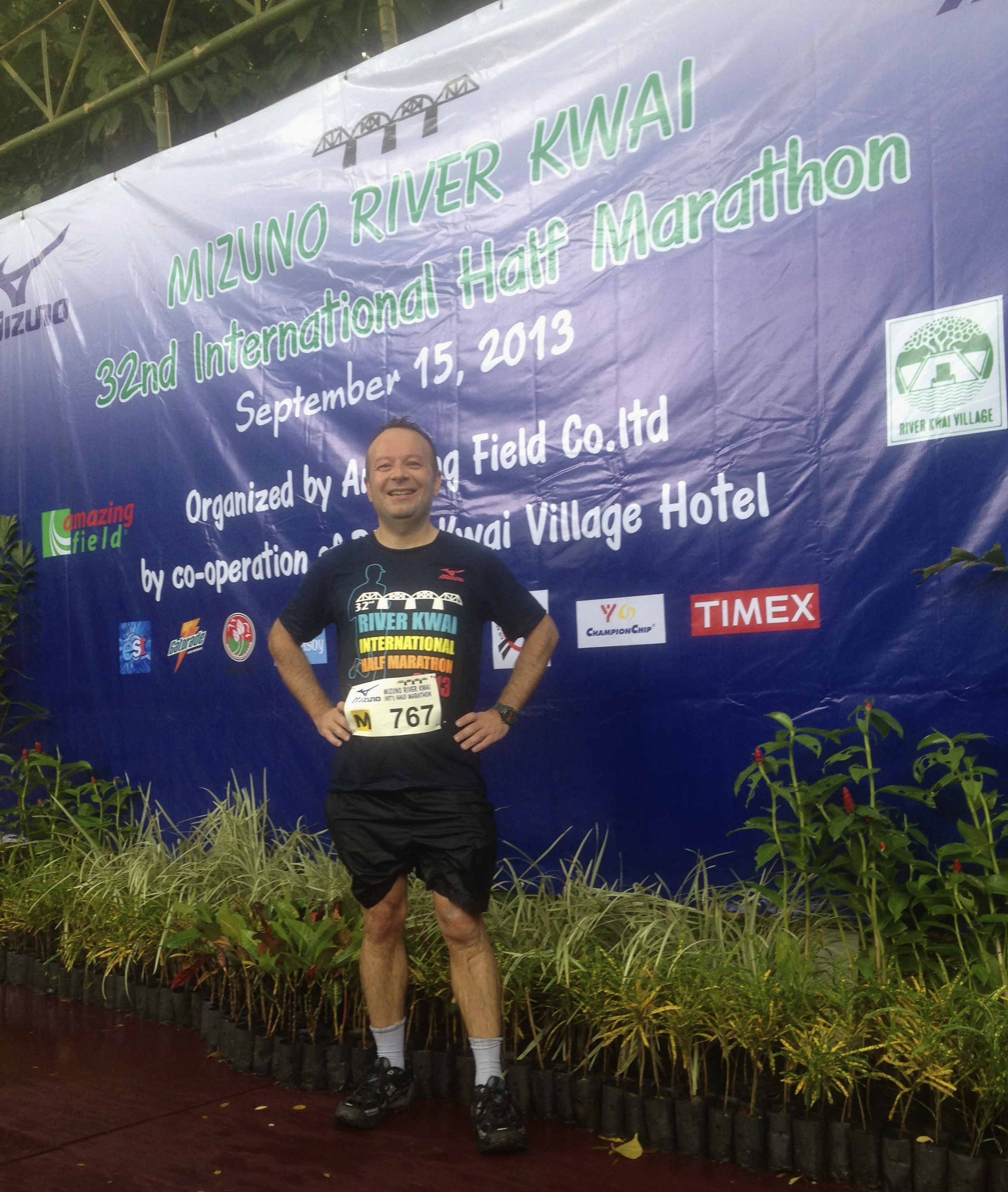 [Vidéo] : Mon semi-marathon de la rivière kwaï
