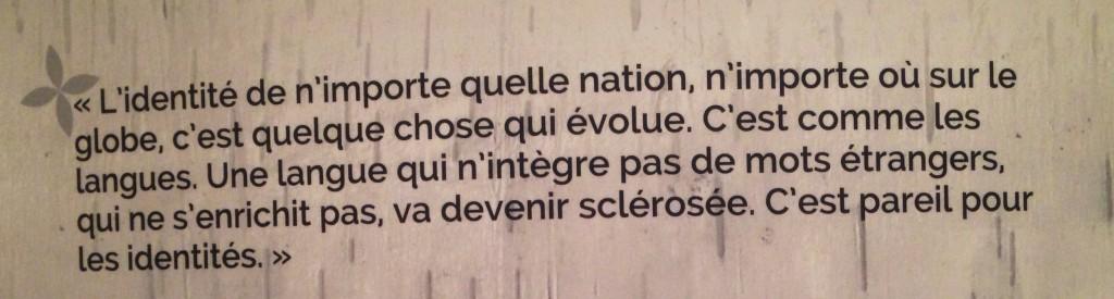 Citation du musée des Abénakis
