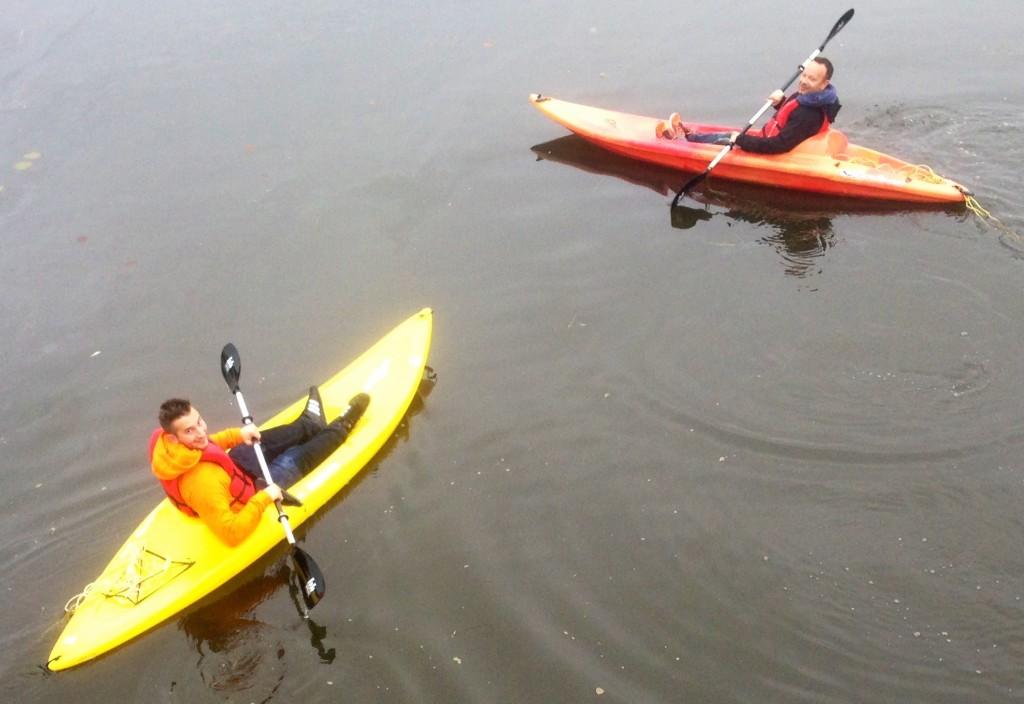 Visite guidée en kayak du marais de la Rivière-aux-Cerises