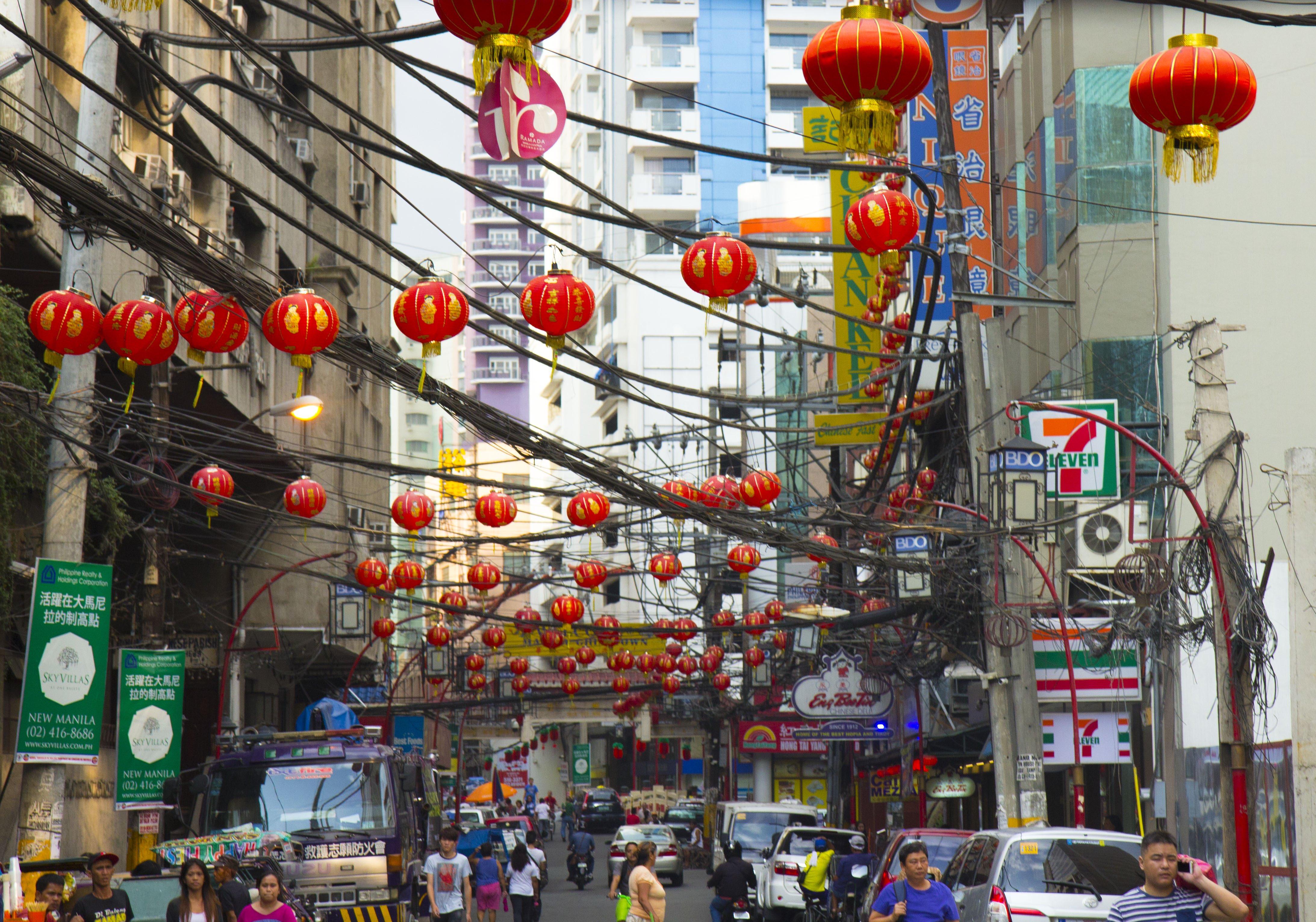 Chinatown à Manille