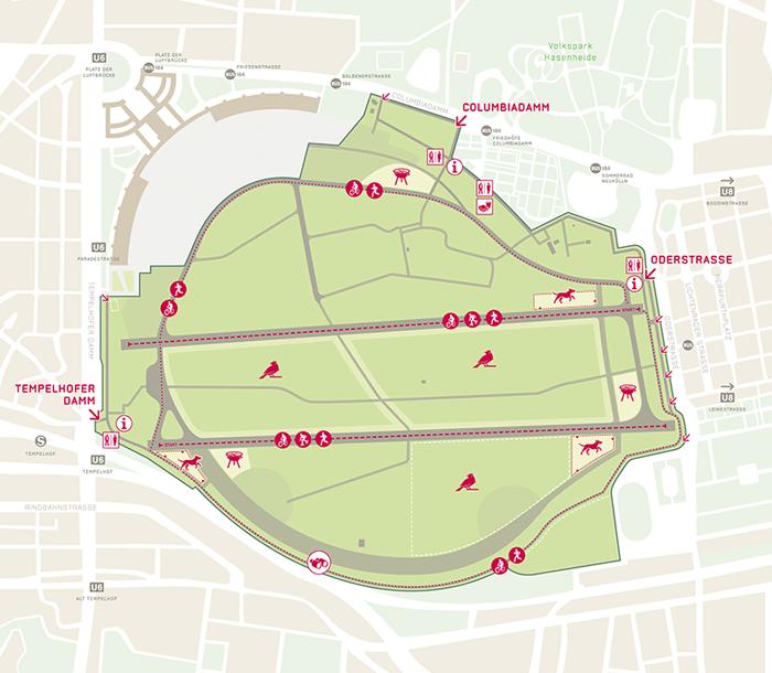 Carte Tempelhof