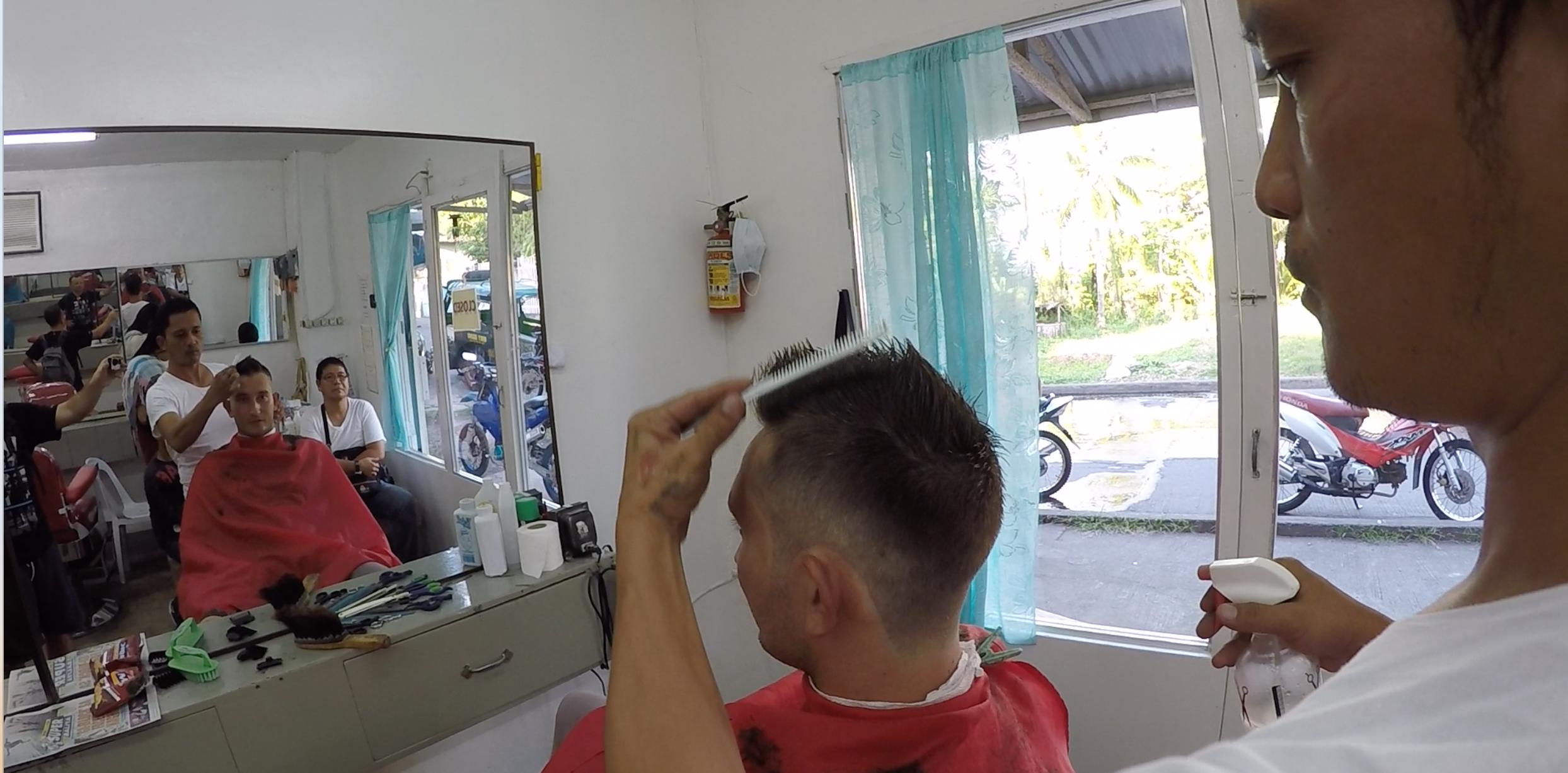 Le barbier de Camiguin
