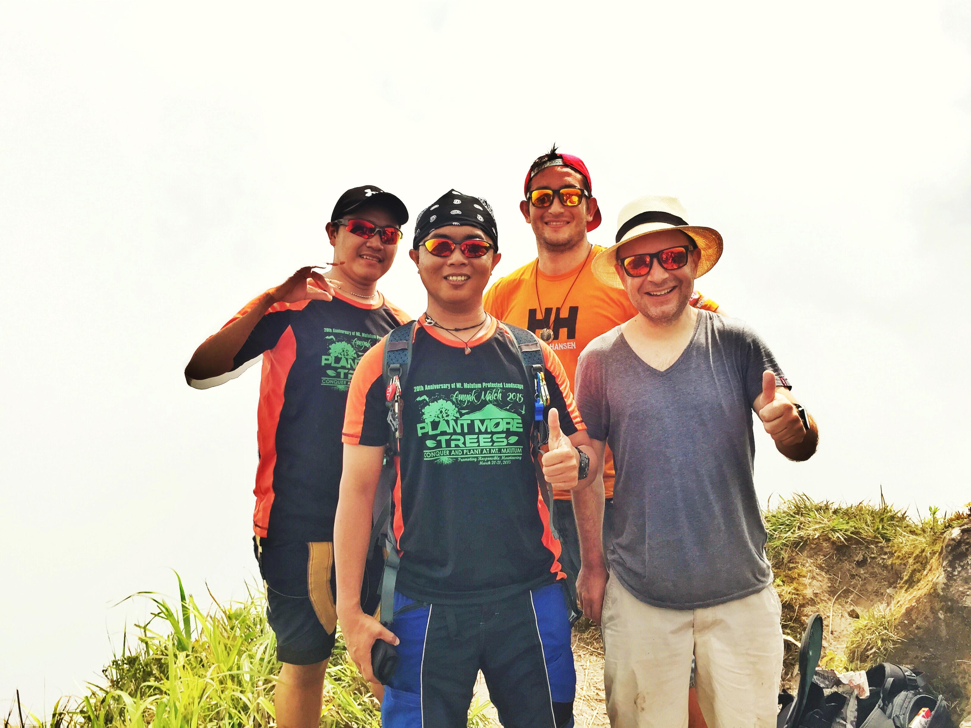 Orange Sunglasses Tribu