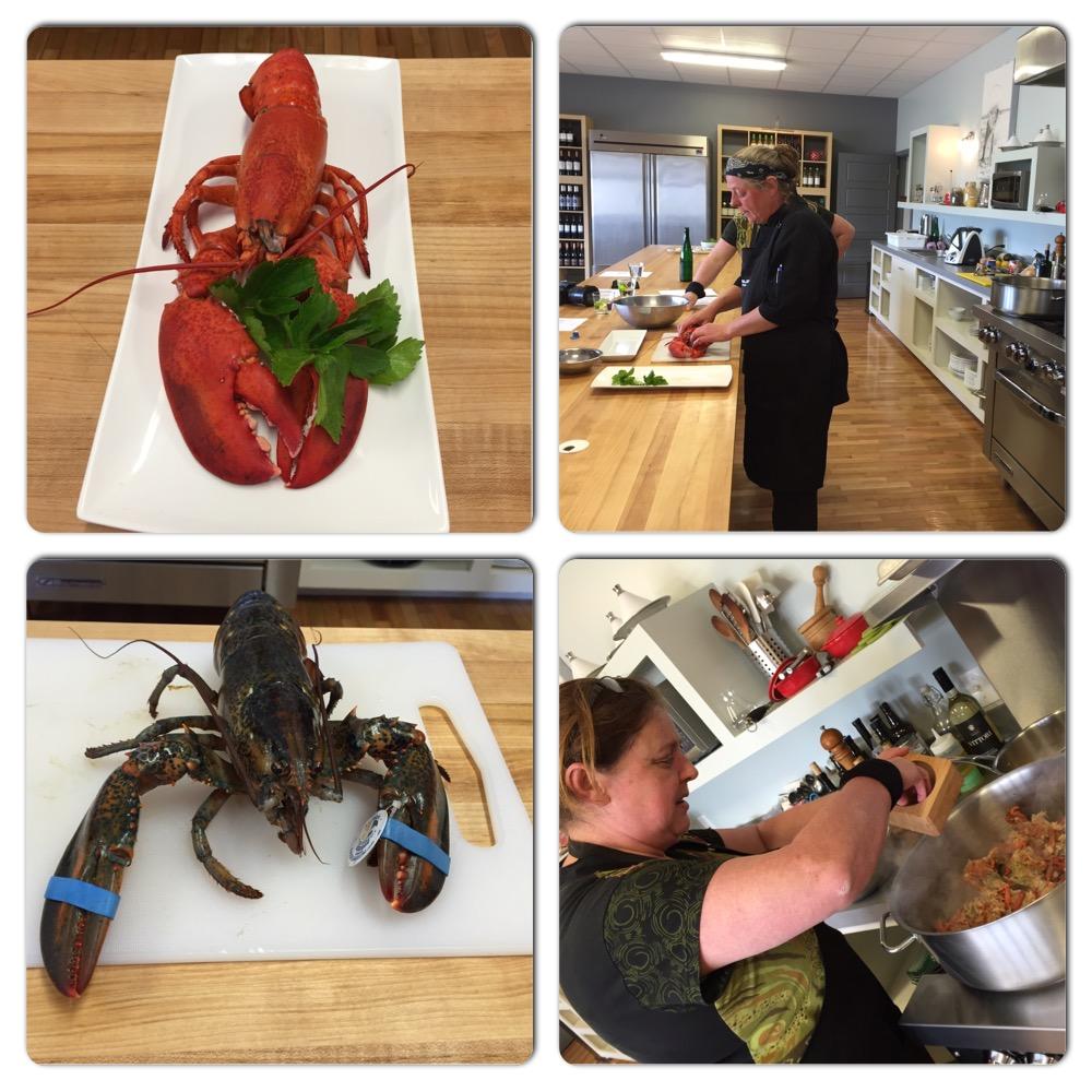 La cuisine du homard