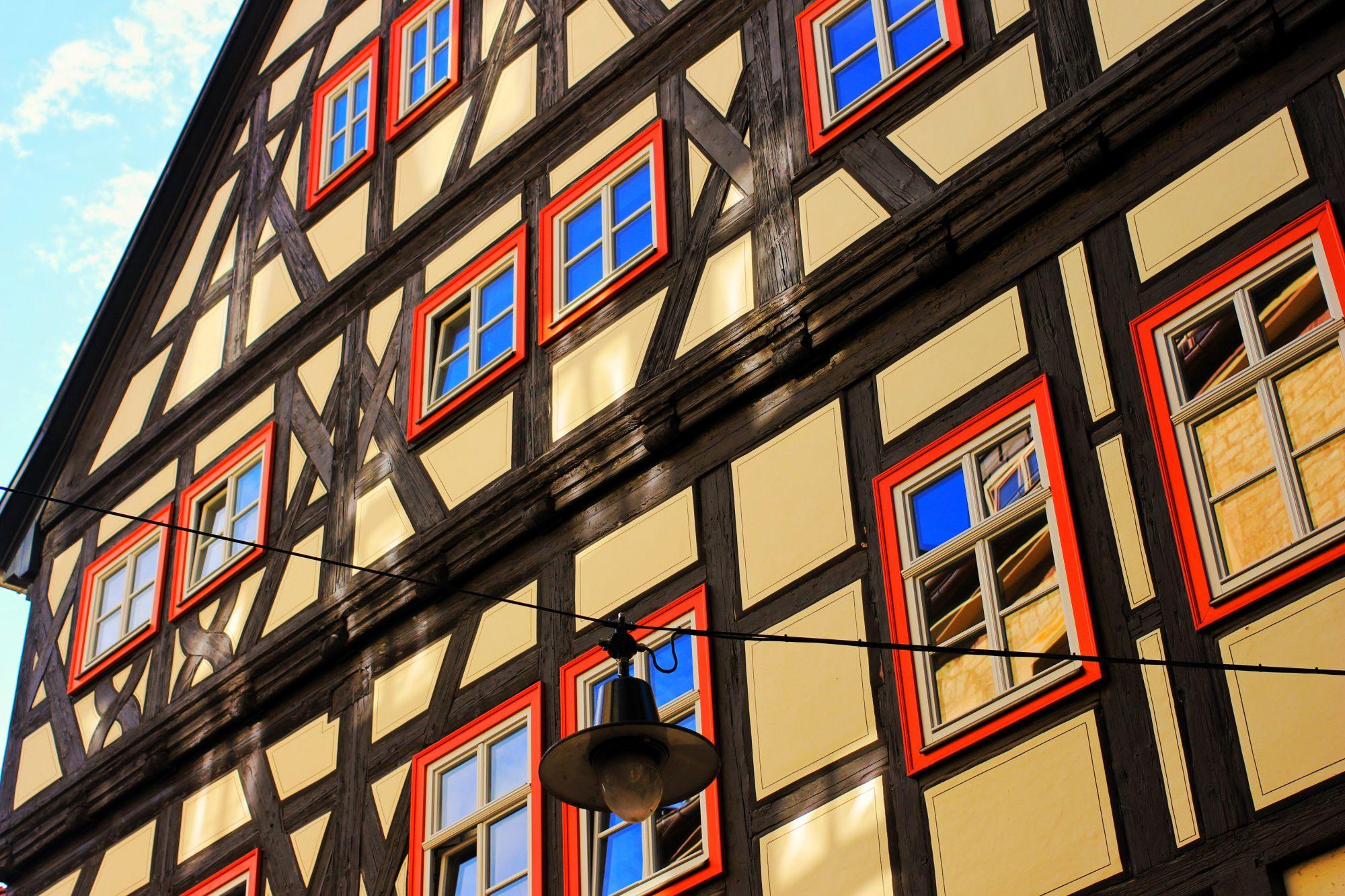 Maison à colombage à Erfurt