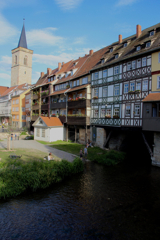 Le pont des épiciers à Erfurt
