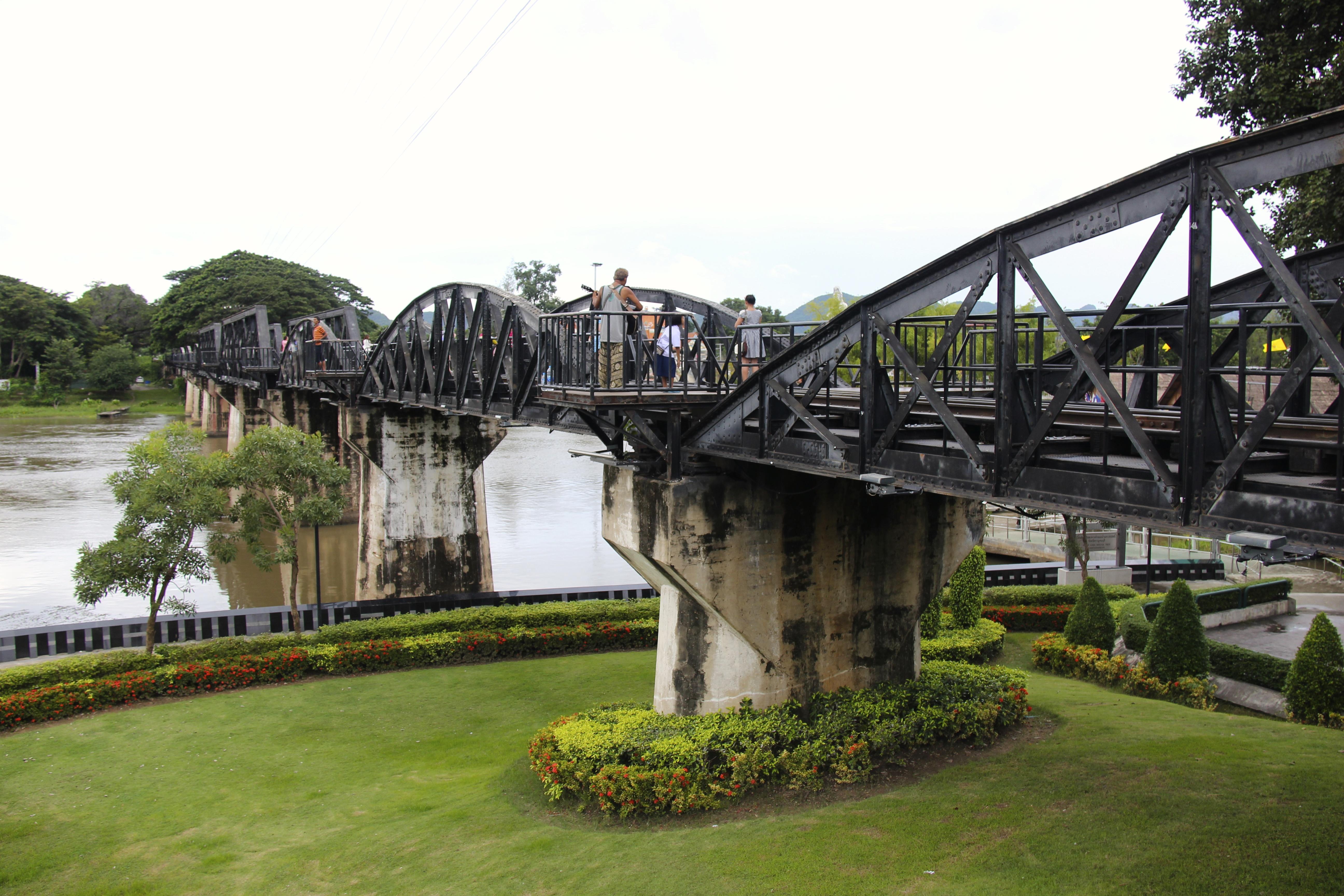 Le pont de la rivière Kwaï et la Voie ferroviaire de la mort